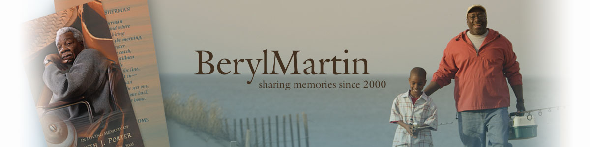 BerylMartin - sharing memories since 2000